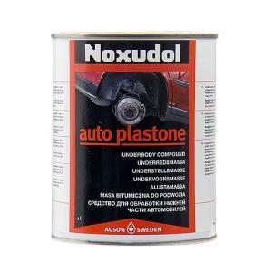 ノックスドール(Noxudol) オートプラストーン(AUTO-PLASTONE) ブラック 1000ml STRAIGHT/36-8500 (Noxudol/ノックスドール)|straight-toolcompany