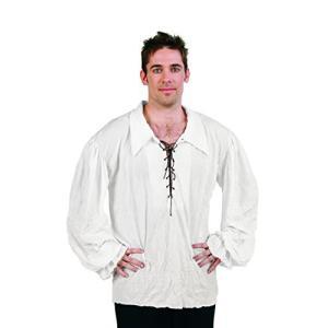 RG Costumes 80331-BE Renaissance Shirt Off Costume - Beige