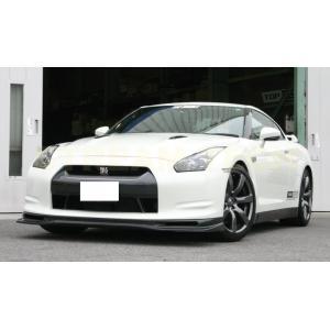 日産 R35 GT-R用 ダクト付 カーボンリップスポイラー NISSAN GTR