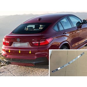 BMW F26 X4 用 スチール製 リアバンパーステップガード 塗装保護 傷防止