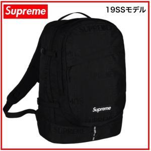 53f540063c Supreme シュプリーム 19SS Backpack シュプリーム バックパック リュック ブラック