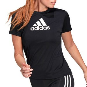 アディダス Tシャツ レディース ロゴ トップス スポーツ 半袖 クルーネック adidas 28835 GL3820|streetbros