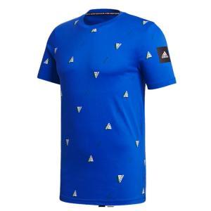 アディダス IHP14 FQ6216 M MHE AOP LOGO Tシャツ メンズ カジアル Tシャツ 半袖 クルーネック streetbros