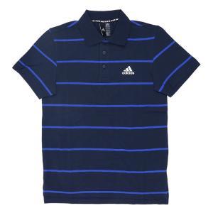 アディダス メンズ ポロシャツ ゴルフウェア 半袖 ボーダー柄 スポーツ ADIDAS IRZ95 FT2832|streetbros