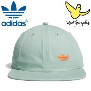 アディダス シュムーキャップ コラボ マークゴンザレス ロゴ オリジナルス adidas skate FM1593 グリーン|streetbros