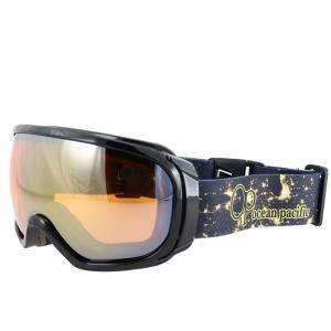 オーピー 球面レンズ ミラーダブルレンズ スノーゴーグル OP スキー ゴーグル スノボ シャイニーブラック 通販 販売 人気 ミラーレンズ スキー用品 男女兼用|streetbros