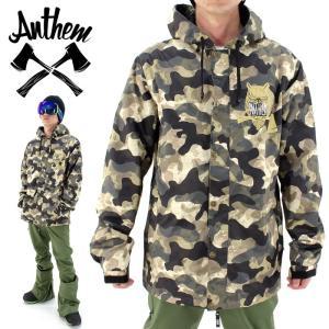 ソフトシェルジャケット ANTHEM 迷彩 スノボジャケット ウェア アンセム スノボウェア OWL JKT AN1667 大雪 スノボ 防寒 防水 ウインタースポーツ かっこいい|streetbros