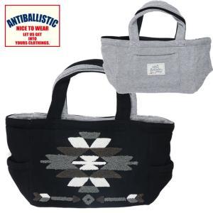 アンティバルリスティック トートバック リバーシブル レディース 刺繍 184AN4BG024 ブラック|streetbros