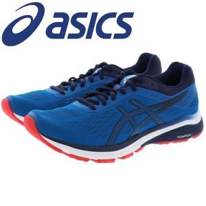 アシックス ジョギングシューズ カジュアルシューズ ブルー ASICS GT-1000 1011A042|streetbros