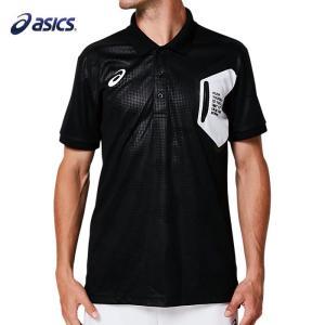 アシックス ポロシャツLIMO グラフィックポロシャツ ASICS 2031A687 ゴルフ トレーニング メンズ ブラック 即納 販売 通販 人気|streetbros