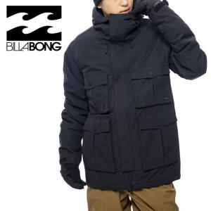 ビラボン BILLABONG スノーウェア メンズ ジャケット フード付 スノボード BA01M753 ブラック|streetbros