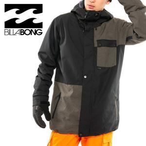 ビラボン BILLABONG スノーウェア メンズ ジャケット フード付 ブラック スノーボード BA01M755|streetbros