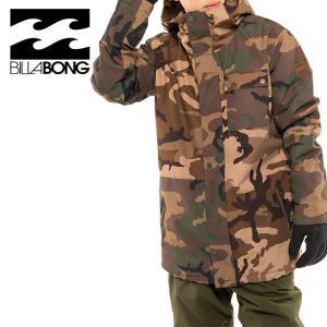 ビラボン スノーウェア メンズ BILLABONG スノーボード 防水 ジャケット BA01M755 迷彩柄|streetbros