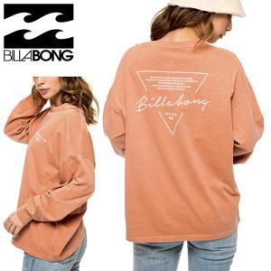 ビラボン 長袖 Tシャツ ウィメンズ 綿 オレンジ レディース カジュアル BILLABONG BB014052|streetbros