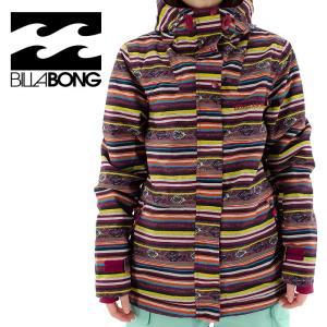 ビラボン スノーボード ジャケット スノボウェア AF01L-759 BILLABONG スノボー 総柄 民族模様柄 ウエア ボーダー 流行色 2015-2016 通販 販売 即納|streetbros