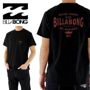 セール BILLABONG(ビラボン) ヴィンテージウォッシュ ポケット付き バックプリント「AG011-207 BLK」 Tシャツ おすすめ 贈り物 ギフト 父の日 プレゼント streetbros