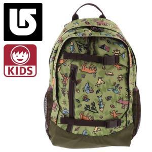 バートン キッズ リュックサック 20L Backpack 110561 総柄 動物柄 グリーン系 通販 販売 即納 人気|streetbros