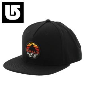 バートン キャップ Burton Underhill Hat 平つば 帽子 コットン ブラック 即納 通販 販売 streetbros