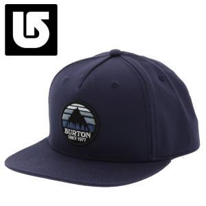 バートン CAP Burton Underhill Hat スナップバックキャップ ネイビー|streetbros