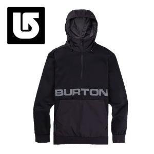 BURTON ソフトシェル メンズ ブラック スポーツ 撥水性 ストレッチ バートン フード付き 217401|streetbros