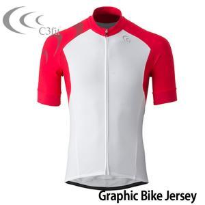 シースリーフィット サイクルジャージ 3F46152 グラフィックバイクジャージ 販売 人気ブランド 自転車 サイクリングウェア ツーリング 即納 通販 おすすめ