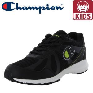 チャンピオン 軽量 ジュニアスニーカー キッズシューズ ランニングシューズ CP JRN005 ブラック 黒色|streetbros