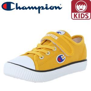 キッズシューズ チャンピオン CP KC001 キッズセンターコートOX 軽量 マスタード 黄色 イエロー|streetbros