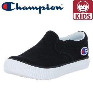 チャンピオン キッズシューズ 軽量 CP KC003 キッズセンターコート SLIP 黒色 ブラック|streetbros