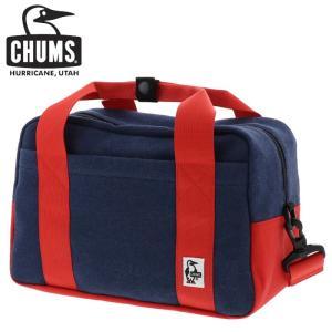 チャムス カメラ ボストンバック CHUMS CH60-2667 斜め掛けバック スエット ナイロン ショルダー ネイビー streetbros