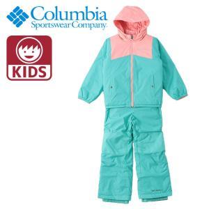 COLUMBIA スノーウェア 上下セット キッズ コロンビア パンツ ジャケット リバーシブル 撥水 SY1093|streetbros
