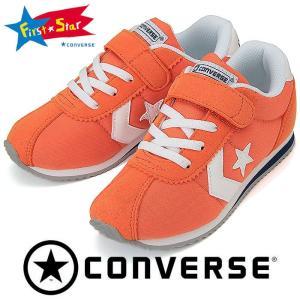 CONVERSE キッズスニーカー KID'S RM オレンジ/ホワイト
