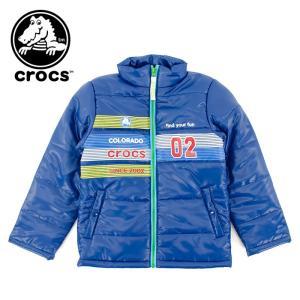 crocs キッズ 中綿 ジャケット ジャンパー クロックス 子供服 145250 アウター ブルゾン 子供用|streetbros
