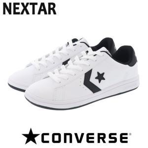 コンバース ネクスター310SC CONVERSE NEXTAR310SC ローカット スニーカー ホワイト×ブラック 白靴|streetbros