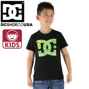 SALE ディーシー キッズ 100 120 130cm ビッグマークTシャツ DC KIDS 7226J604 BLK streetbros