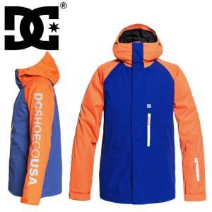 DCSHOES ディーシー スノボウェア オレンジ×ブルー リプレイジャケット スキーウェア DC スノーボード SK8 ストリート系 SKATEBOARDING スノーボードウェア streetbros