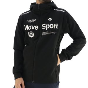 デサント トレーニングジャケット スポーツウェア 長袖 メンズ ストレッチ ブラック DESCENTE DMMSJF11|streetbros