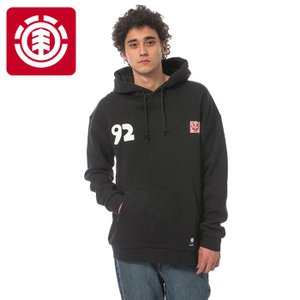 エレメント メンズ パーカー ELEMENT KEITH HARING COLLECTIONKH SMILE POP HOOD FL ブラック AI022012|streetbros