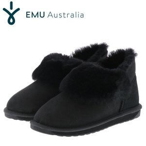 エミュー ムートンブーツ バイア ブラック emu BAIA レディースブーツ W11695 streetbros