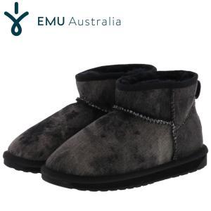 エミュー スティンガー ブーツ ムートンブーツ レディース 正規品 ブラック emu STINGER W11376 人気 即納 streetbros