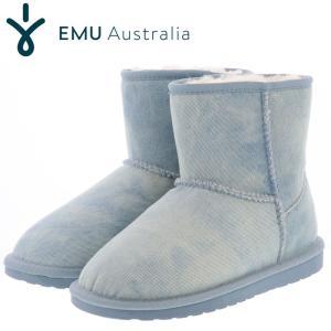 emu ブーツ エミュー ムートンブーツ レディースブーツ デニム emu LIGHT DENIM DISTRESS W11377 streetbros