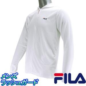 フィラ 長袖ラッシュガード ゆったりフィット メンズ水着 FILA 426-289 メッシュラッシュガード|streetbros