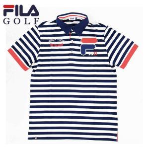 フィラゴルフ FILA GOLF メンズ ゴルフウェア ポロシャツ 半袖シャツ 747640 streetbros