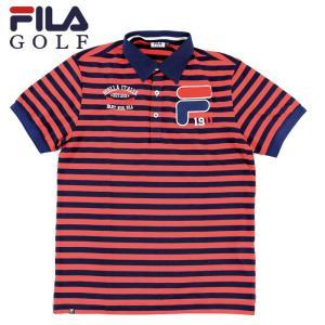 フィラゴルフ ポロシャツ FILA GOLF メンズ ゴルフウェア 半袖シャツ 747640 即納 streetbros
