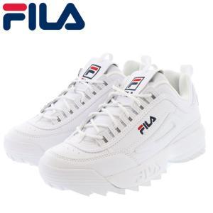 フィラ ディスラプター ダッドシューズ メンズ レディース スニーカー FILA F0215-1072 ホワイト 白色|streetbros