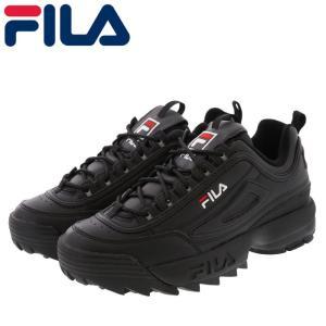フィラ ダッドシューズ メンズ レディース ディスラプター シューズ FILA F0215-1073 ブラック 黒色|streetbros