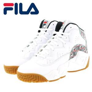 フィラ マッシュバーン ヘイズ バスケットシューズ メンズ スニーカー FILA F0386-125 ホワイト 即納 人気ブランド|streetbros