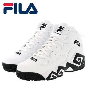 フィラ マッシュバーン メンズ レディース バスケットシューズ スニーカー FILA FHE102-005 ホワイト|streetbros