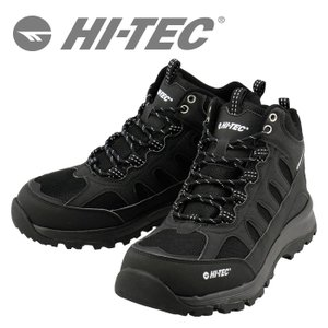 HI-TEC トレッキングシューズ ハイテック 3E ロックネス WP 登山靴 防水 HT BTU12 ブラック 53840936 streetbros