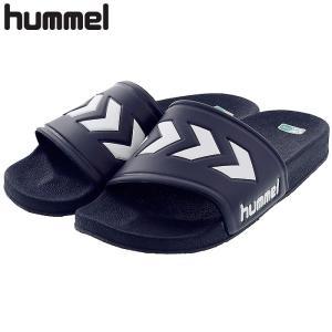 ヒュンメル シャワーサンダル スポーツサンダル ネイビー 紺色 HUMMEL HAS4025|streetbros