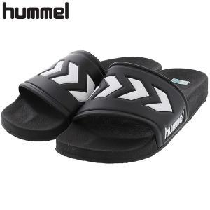 ヒュンメル スポーツサンダル シャワーサンダル ブラック 黒色 HUMMEL HAS4025|streetbros